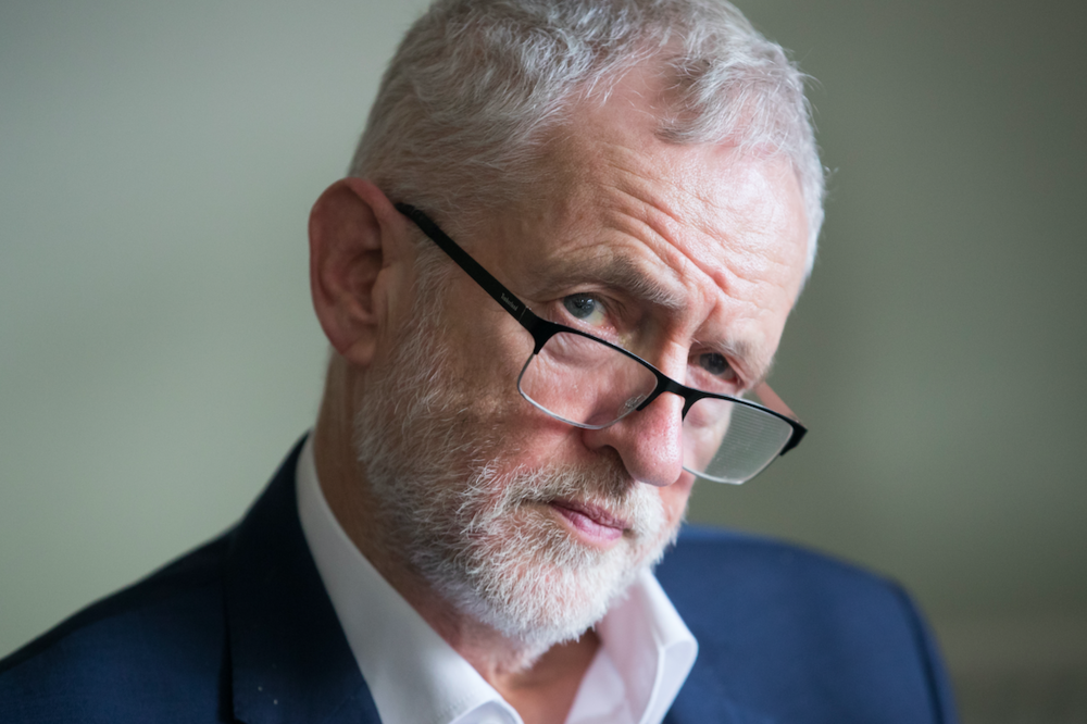 Smear target: Labour leader Jeremy Corbyn. (C) Aaron Chown/PA Wire/PA Images