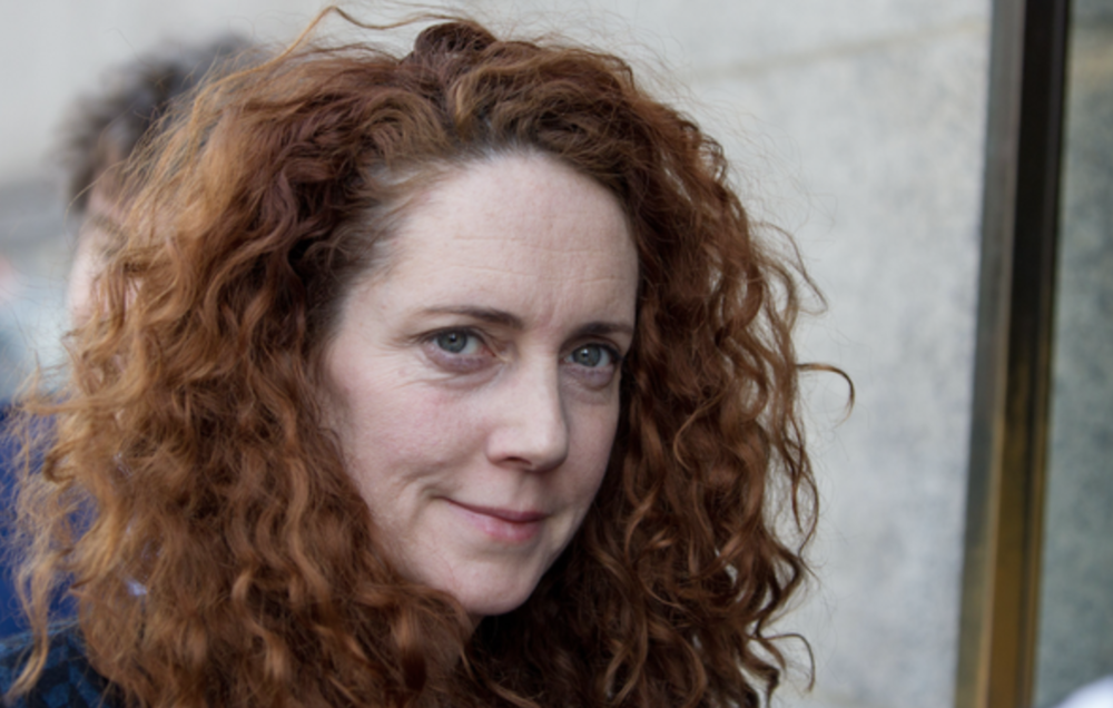 Cleared: Rebekah Brooks was cleared in 2014 of phone hacking after a criminal trial at the Old Bailey, and later reinstated as CEO of Rupert Murdoch's News UK (c) PA