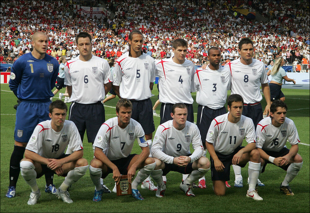 England FC, many of whom were targeted by phone hackers. (Image By  Mexicaans fotomagazijn  licensed under  CC BY-NC 2.0  )
