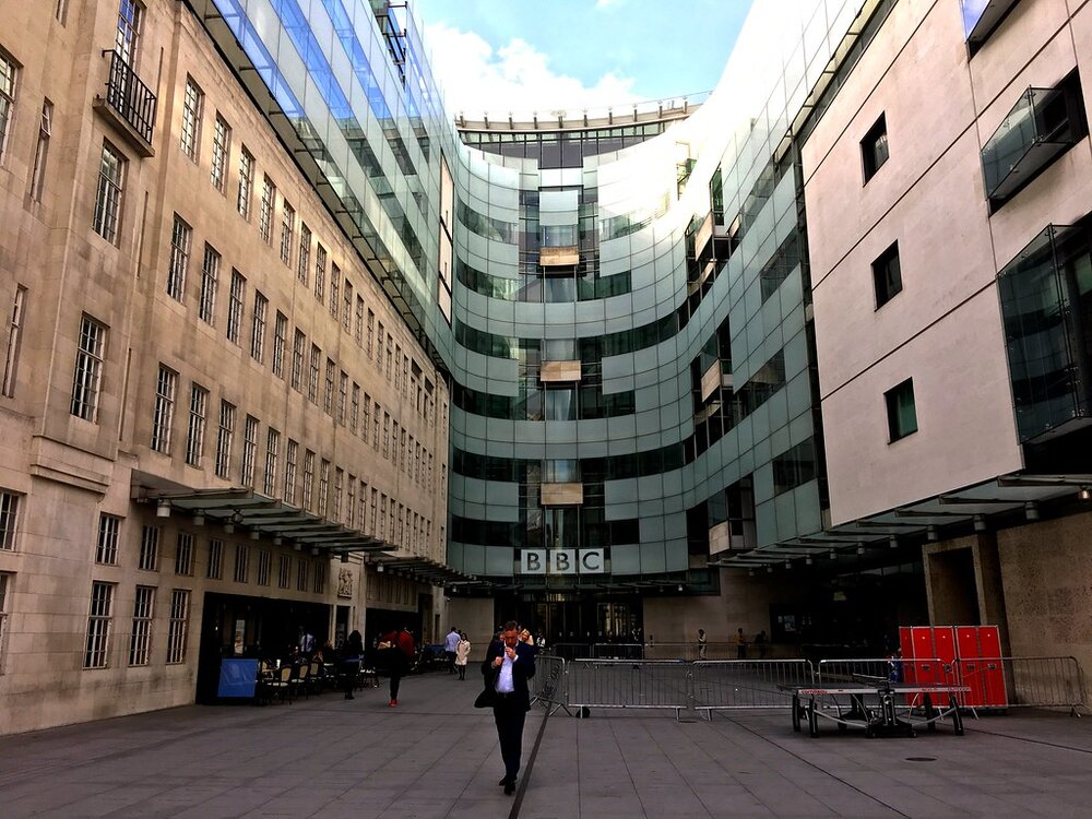 BBC Portland Place. By Herry Lawford (licensed under CC BY 2.0)