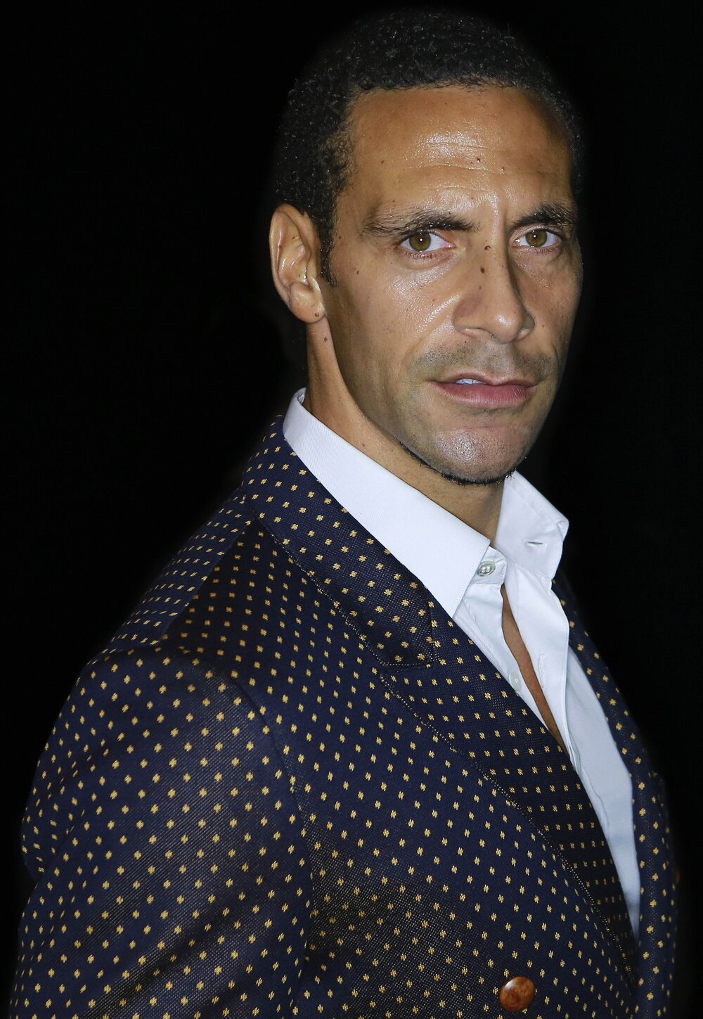 Rio ferdinand, former England and Manchester United captain, and phone hacking victim (Image by Walterlan Papetti, CC 3.0)