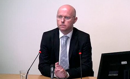 Stephen Wright at the Leveson Inquiry