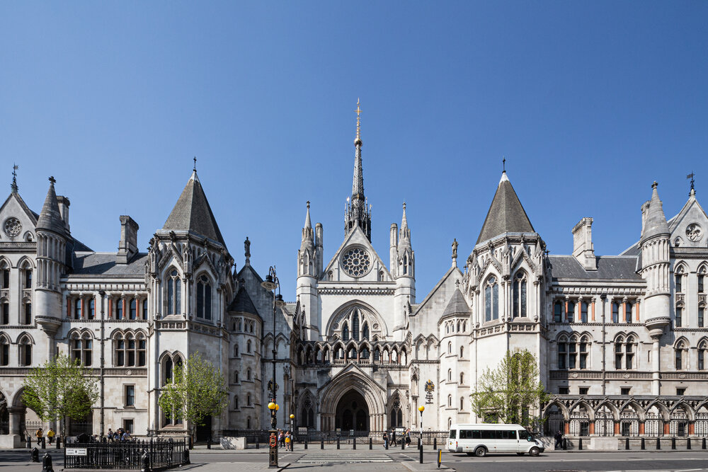 The Royal Courts Of Justice. By David Castor. Licensed Under CC0 1.0