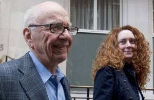 Rupert Murdoch and Rebekah Brooks