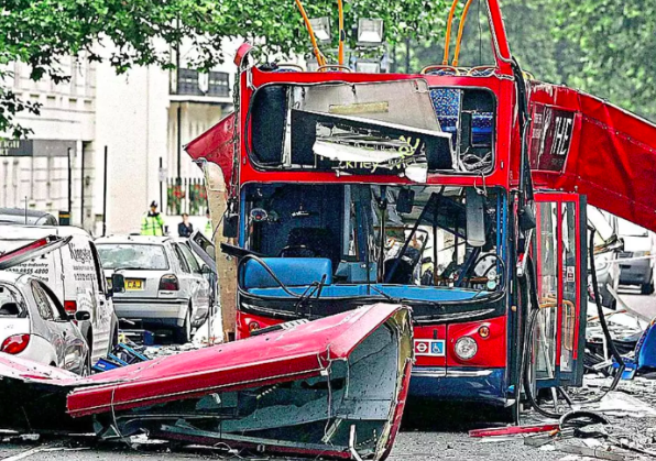 Devastation: terrorists targeted London on July 7, 2005. The Sun allegedly targeted the medical records of at least one victim, according to court documents