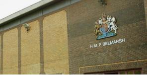 Jailed: Belmarsh prison