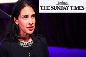 Legal protection: Sunday Times' lawyer Pia Sarma