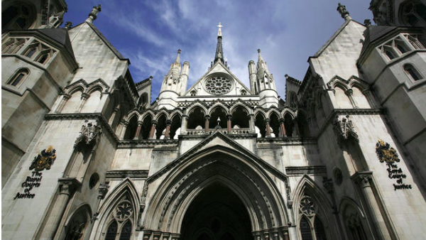 looming: Royal Courts of Justice