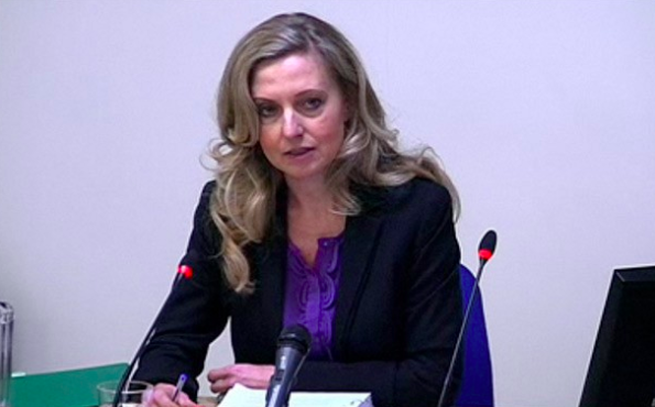 Defence: former Sunday Mirror editor Tina Weaver denied wrongdoing by Owens at Leveson