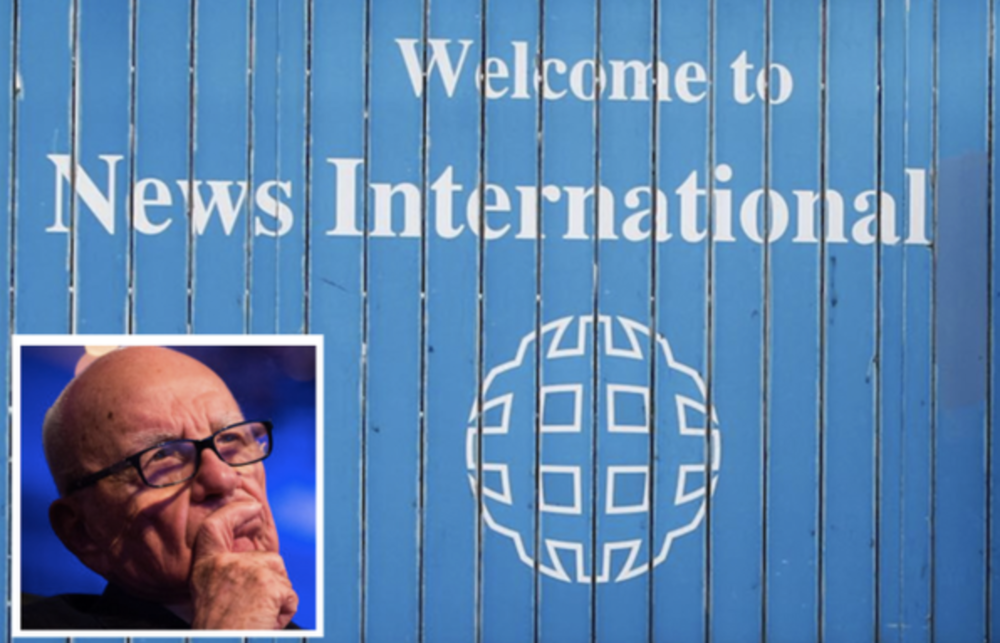 Dogged: Rupert Murdoch and his UK newspaper publishing businesses