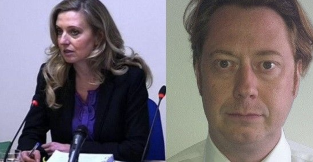 Tina Weaver and James Scott were colleagues and Editors at Trinity Mirror. (c) Unknown