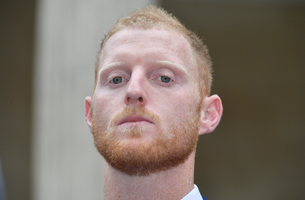 Focused: Ben Stokes is suing Rupert Murdoch's  The Sun (c) PA