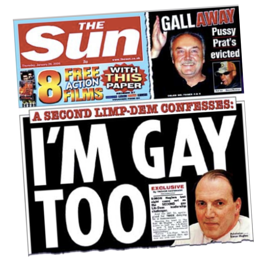 Paper of phone records? The front page Sir Simon says was based on his stolen phone records