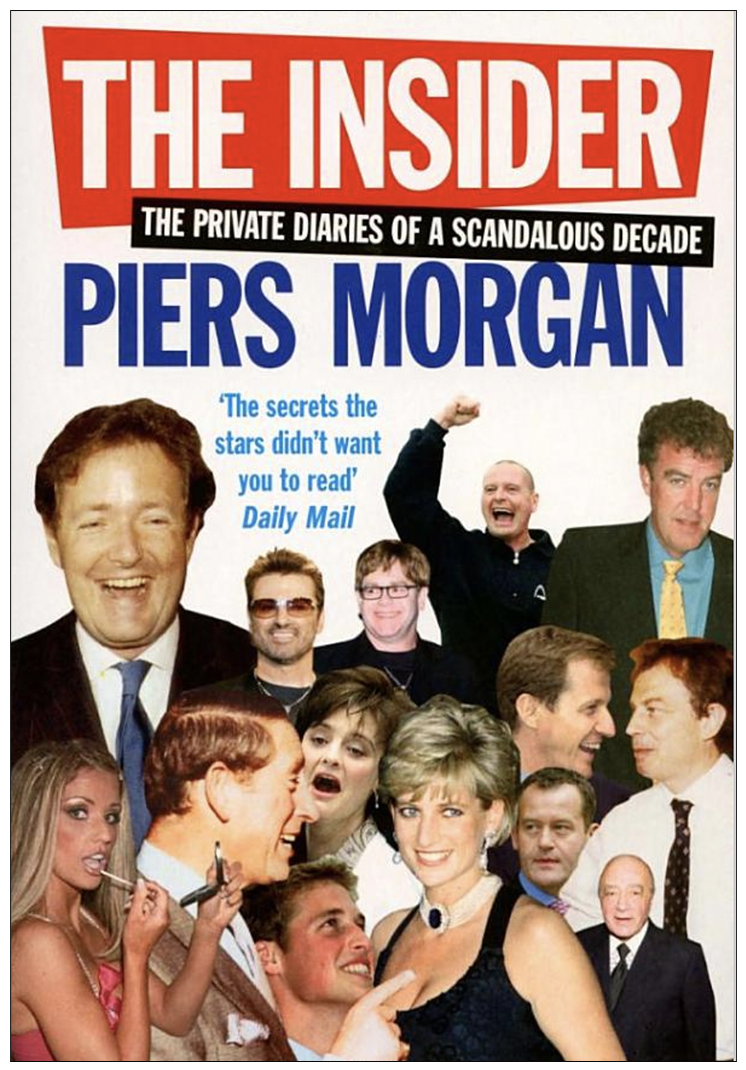 Stolen glance: Piers Morgan's 2005 diary in which he admits reading the private letters of Diana, Princess of Wales