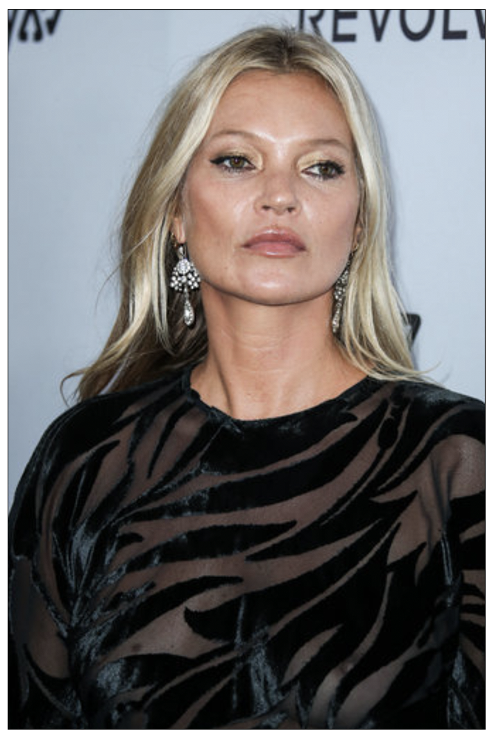 Targeted? Model Kate Moss (c) PA