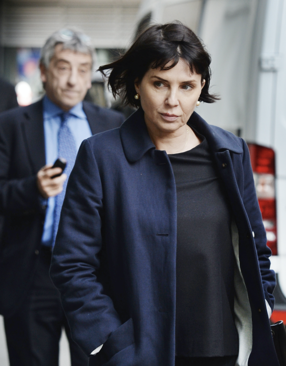 Award: Sadie Frost outside the High Court in London in 2015 after being awarded more than £260,000 damages against Mirror Group Newspapers (c) PA