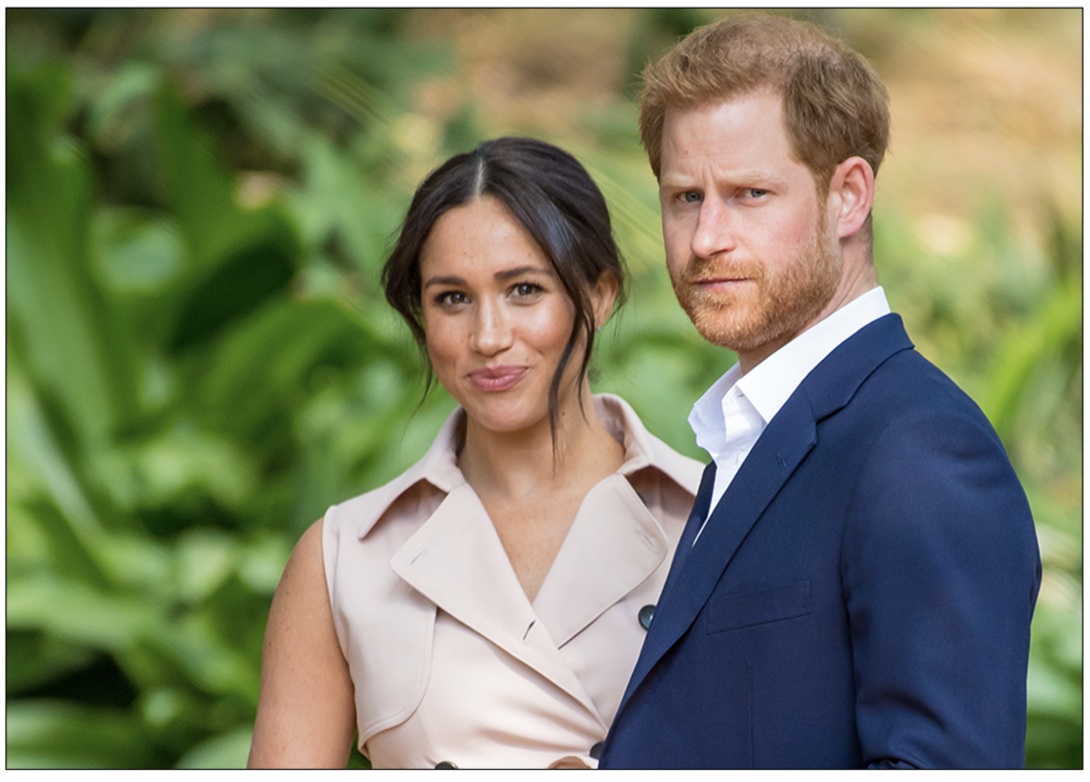 United:  Prince Harry, Duke of Sussex, and Meghan, Duchess of Sussex, are standing up to Britain's notoriously invasive tabloid press through the courts (c) PA