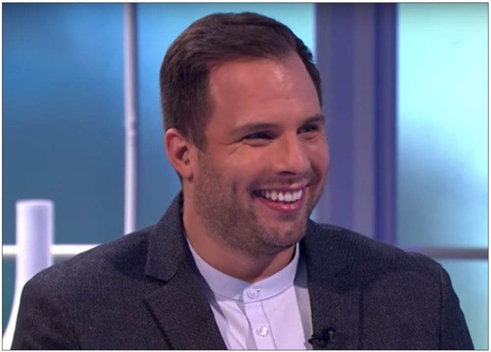 Confronted:   Sun-on-Sunday  Executive Editor Dan Wootton spoke to Phillip Schofield about his paper's planned story