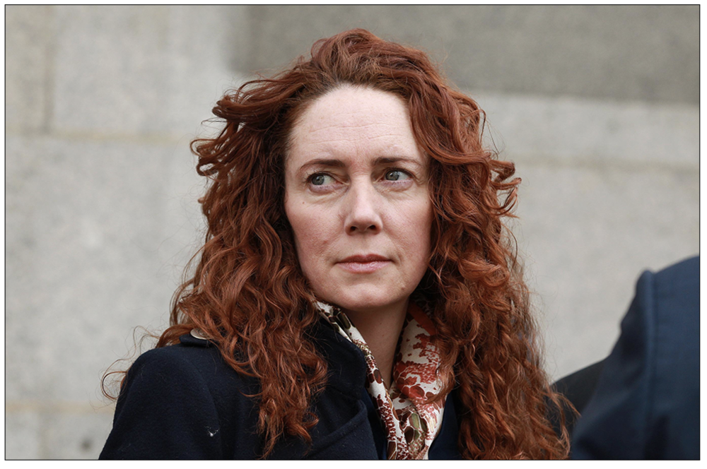 Rebekah Brooks, who has been dragged into a court case that suggests she lied under oath during her 2014 Old Bailey criminal trial.
