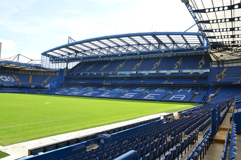 Stamford Bridge. By  Lachlan Fearnley  Courtesy of  CC BY-SA 3.0