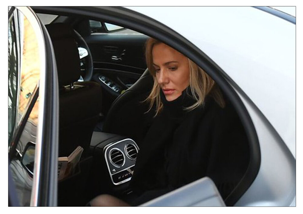 Troubled : Caroline Flack in December 2019