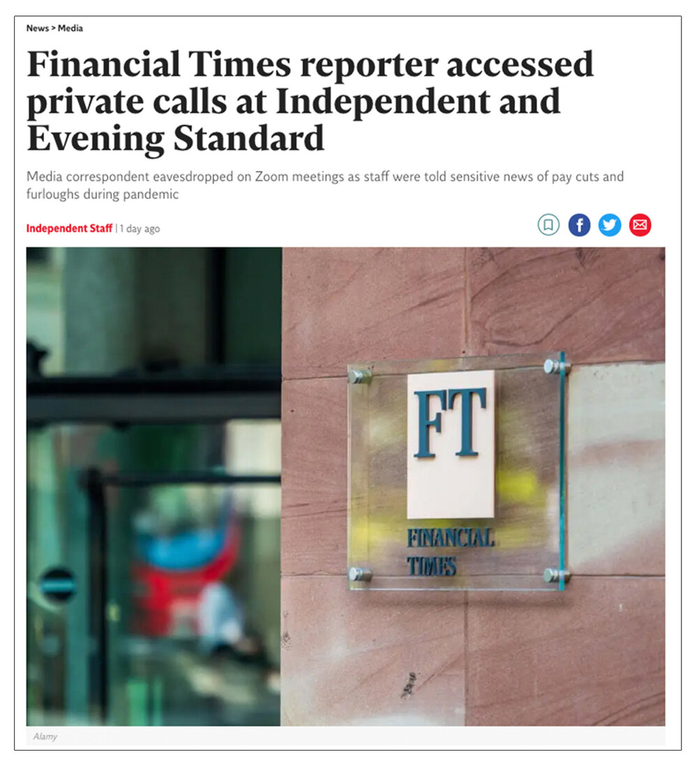 Independent coverage : How  The Indie  first reported the Di Stefano incident (c)  The Independent  / Alamy