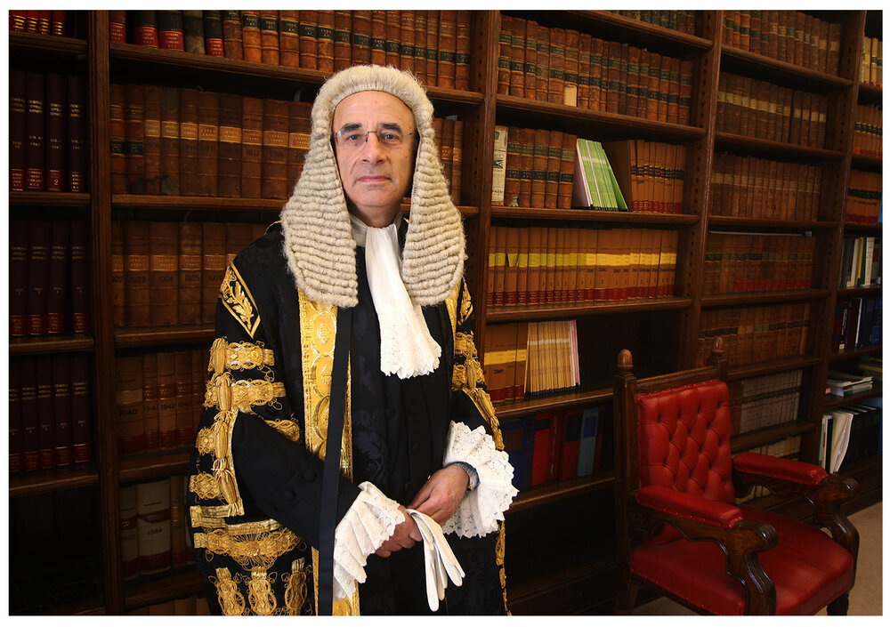 Inquiry findings : Sir Brian Leveson (C) PA