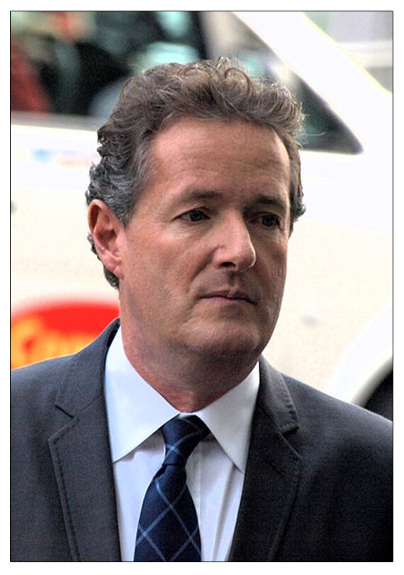 In charge : Piers Morgan was Mr Jones's editor at  The Mirror  at the time of the alleged incident