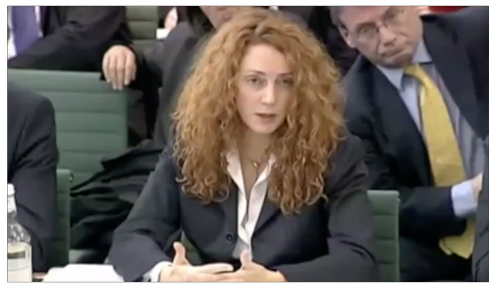 Evidence : The former  Sun  editor giving evidence to the Commons Culture, Media and Sport Select Committee Inquiry in March 2003